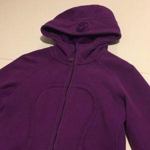 Purple Lululemon Scuba Hoodie